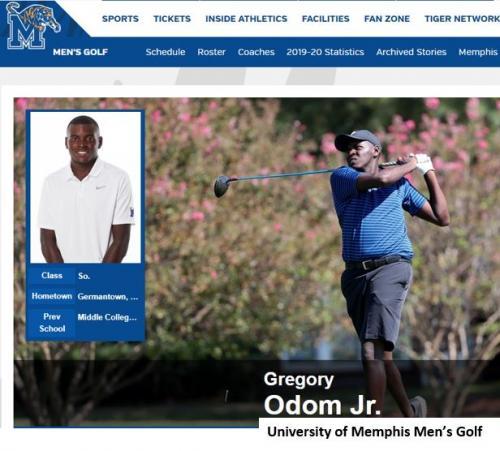 2018 Scholarship Recipient Greg Odom